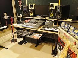 diy recording studio desk diy build plans for recording studio desk ideas pinterest regarding