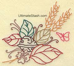 73 best autumn fall thanksgiving machine embroidery designs