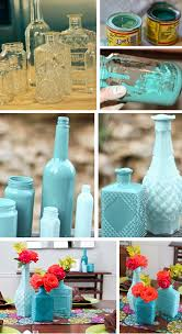 How To Paint Inside Glass Vases Genius Re Purpose Glass Jars And Bottles By Painting The Inside