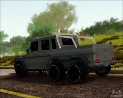 mercedes pickup truck 6x6 mercedes benz g63 amg 6x6 for gta san andreas