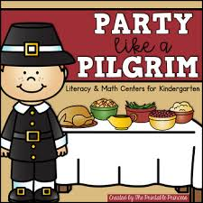like a pilgrim thanksgiving activities and centers for