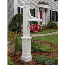 lamp post hanging house numbers including design house mayne