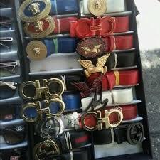 designer belts s different designer belts on poshmark