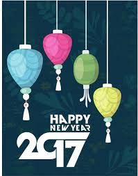 new year backdrop 2017 new year backdrop lantern and vignette design free vector in
