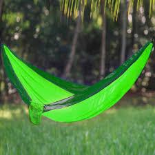 sport force portable two person nylon hammock redeem source