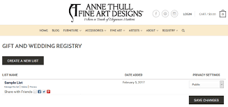 bridal registry list how to build your wedding registry thull