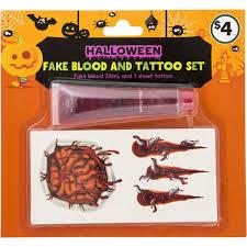 Halloween Makeup Sets by Halloween Makeup Set Tattoo Each Woolworths