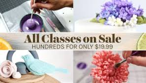 Cake Decorating Classes All Craftsy Cake Decorating Classes Are On Sale Up To 50 Off