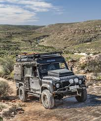 land rover africa the land rover icarus rooftop camper by alu cab