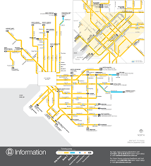 melbourne tram map melbourne tram map light rail mapsof