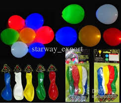 free balloons led light up balloons wedding party christmas kids