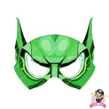 buy childrens diy printable green goblin mask simply party