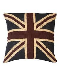 Beitish Flag Jacquard Union Jack Cushion Cover British Flag Tapestry Homescapes