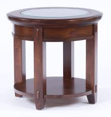 Amish End Tables by Broyhill Vantana Round End Table 4986 000