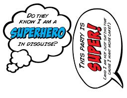 speech bubble hand drawn superhero speech bubbles 1 2 page 8 printable