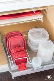 Storage Containers For Kitchen Cabinets Organized Kitchen Cabinets Rubbermaid Food Storage Organization