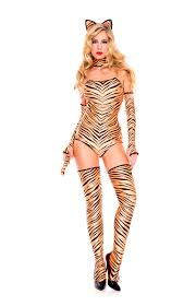 Pouncing Tiger Woman Costume 52 99 The Costume Land
