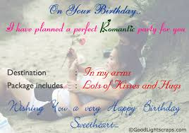romantic birthday scraps greetings and cards happy birthday love