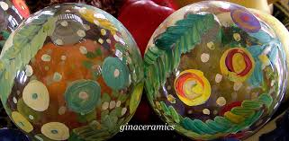 art and alfalfa hand painted christmas ornaments