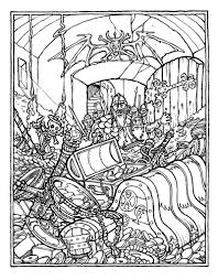 sweet inspiration dungeons dragons coloring book greg irons