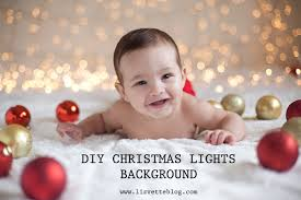 diy easy christmas lights background