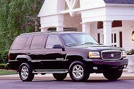 1999 cadillac escalade interior 1999 00 cadillac escalade consumer guide auto