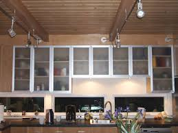 Stainless Steel Kitchens Cabinets by Cabinets U0026 Drawer Small Kitchen Brown Wooden Frosted Glass
