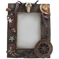 wild west home decor amazon com decorative wild west desktop photo frame with texas
