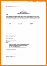 cv example for internship functional resume sample for an it