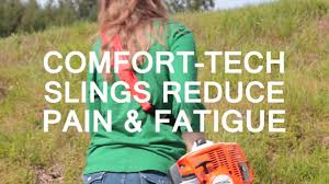 Comfort Tech Comfort Tech Weed Trimmer Sling Youtube