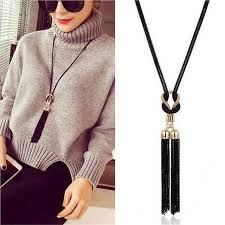long necklace accessories images 2018 new arrival women pendant necklaces exquisite all match chain jpg