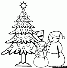 free christmas coloring pages kids u2013 happy merry