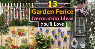 Ideas For Fencing In A Garden Stunning Ideas For Decorative Garden Fence Decorative Garden