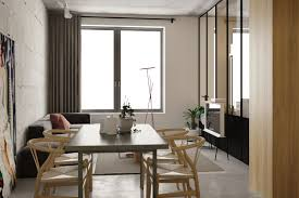 Apartment Dining Room 5 Studio Apartments With Inspiring Modern Decor Themes