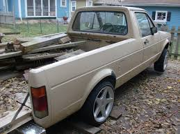 volkswagen rabbit truck custom 80fairmontfutura 1983 volkswagen rabbit specs photos