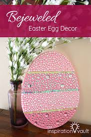 bejeweled easter egg decor the inspiration vault