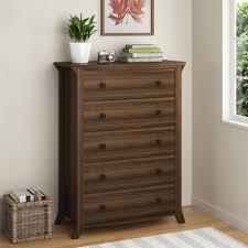 dresser and tv stand combo ameriwood furniture oakridge 5 drawer dresser brown oak