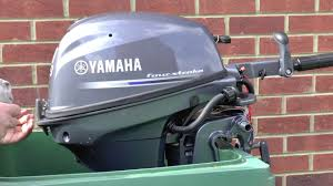 yamaha 9 9 4 stroke outboard motor unboxing u0026 first run youtube