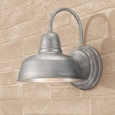 barn 11 1 4 high galvanized indoor outdoor wall light
