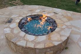 Fire Pit Glass Rocks by Fire Glass Pit Design And Ideas