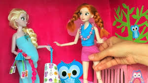 elsa and jack frost have a baby anna and elsa dolls videos disney