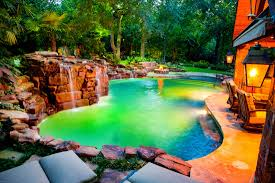Natural Pools by Dallas Freeform Natural Swimming Pool Featured By Hgtv Ultimate