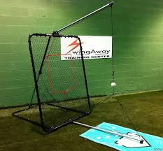 Basement Batting Cage by Swingaway Bat Swing Trainer Titan Elite Bat Swing Trainer