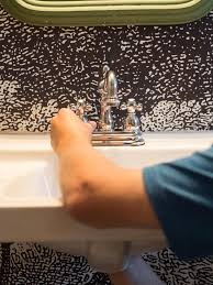 How To Install Bathroom Fixtures How To Out A Bathroom Faucet Hgtv