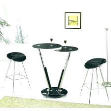 breakfast bar table set bar table stools set lovely jam glass bar table in white gloss and 4