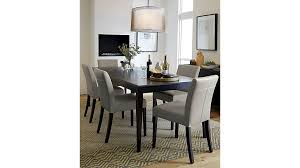 crate and barrel dining room tables village grigio wood dining chair crate and barrel table marlow ii