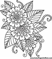 free printable coloring pages summer flowers summer diy