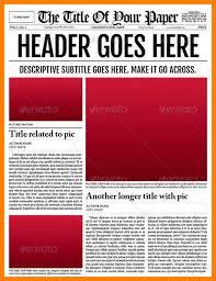 sample blank newspaper 4 blank newspaper template microsoft word aplication format