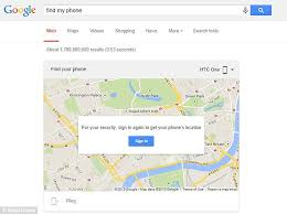 find location of phone number on map users can remotely ring a handset directly from search