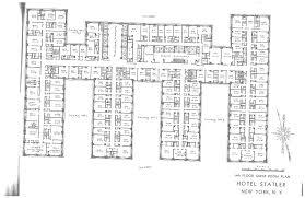 statler hotels hotel pennsylvania blueprints